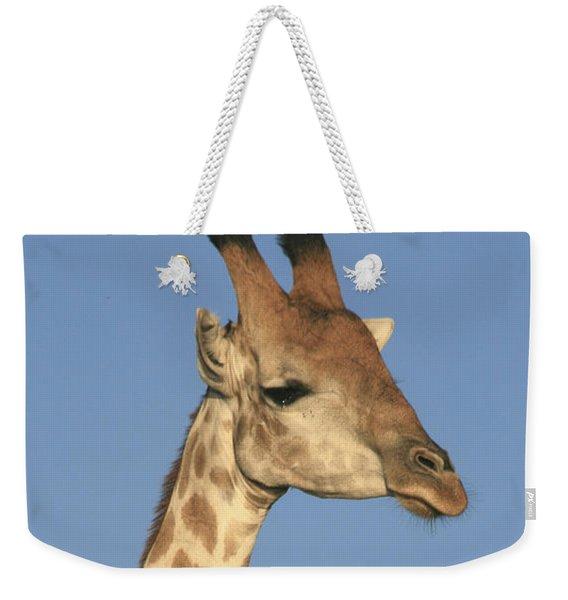 Giraffe Portrait Weekender Tote Bag