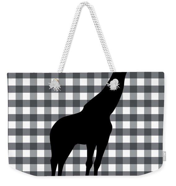 Giraffe Silhouette Weekender Tote Bag