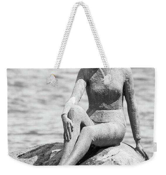 Girl In A Wetsuit Weekender Tote Bag