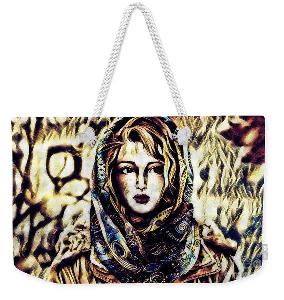 Girl In Hijab Weekender Tote Bag