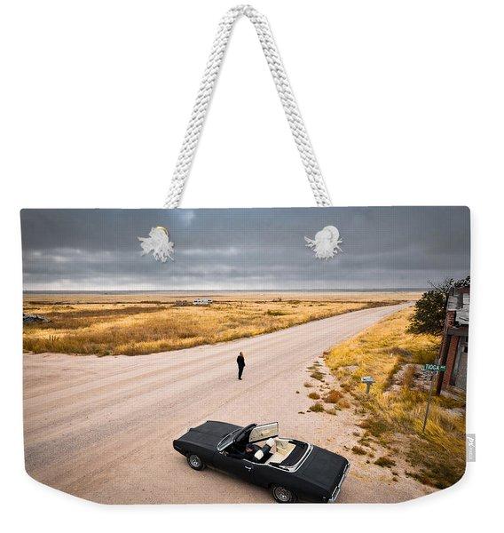 Girl Of The Golden West Weekender Tote Bag