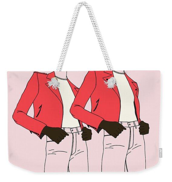 Girl Power 2 Weekender Tote Bag