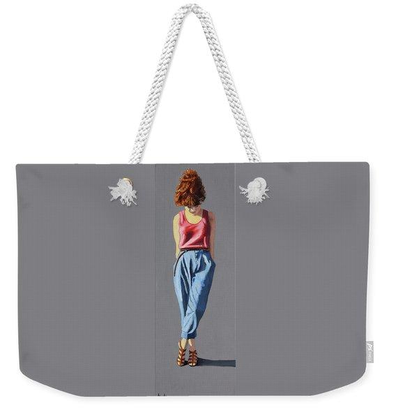 Girl Standing Weekender Tote Bag