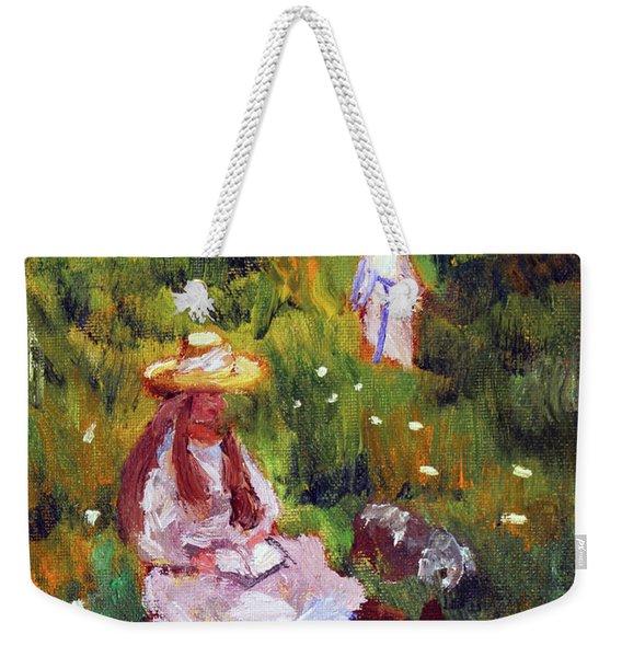 Girls In The Field, After Monet Weekender Tote Bag