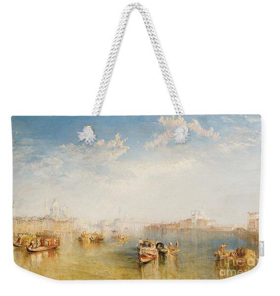 Giudecca La Donna Della Salute And San Giorgio  Weekender Tote Bag