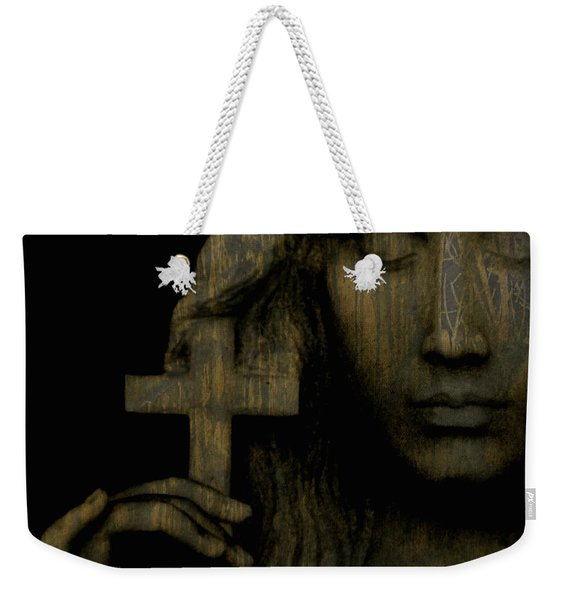 Give Me Peace On Earth Weekender Tote Bag
