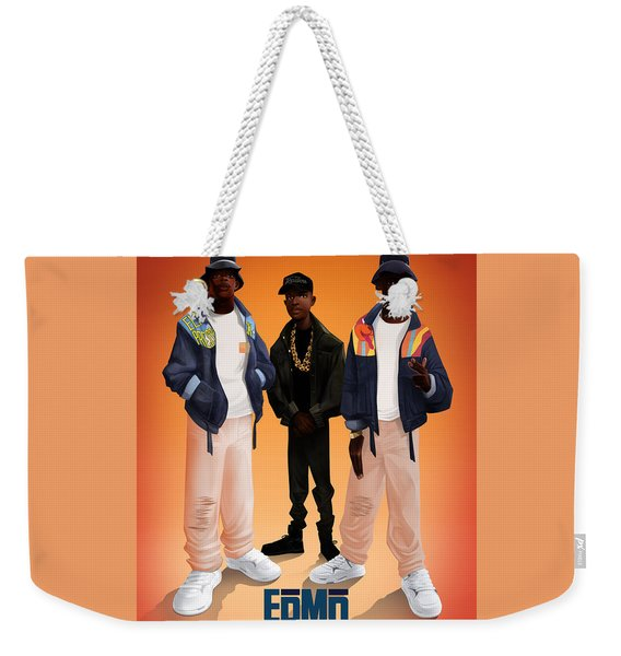 Weekender Tote Bag featuring the digital art Give The People by Nelson dedos Garcia