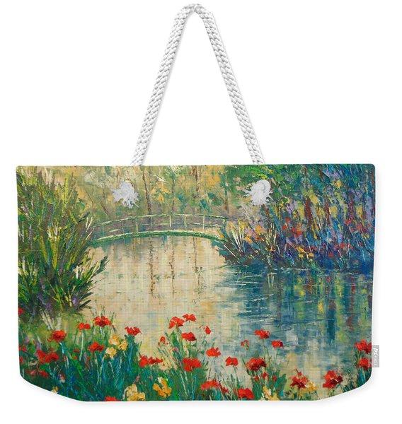 Giverny Weekender Tote Bag