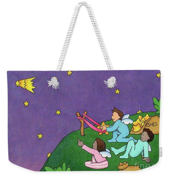 Giving Wishes Wings Weekender Tote Bag