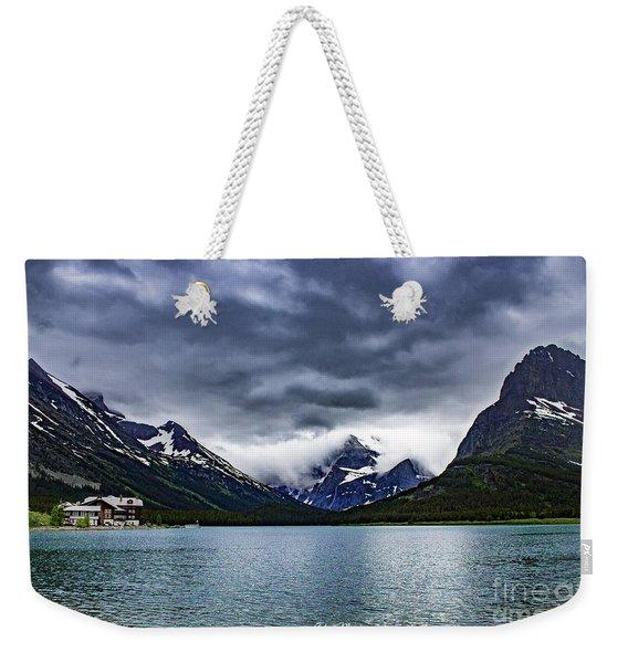 Glacial Getaway Weekender Tote Bag