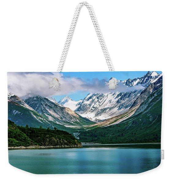Glacial Valley Weekender Tote Bag