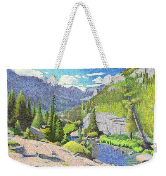 Glacier Gorge Weekender Tote Bag