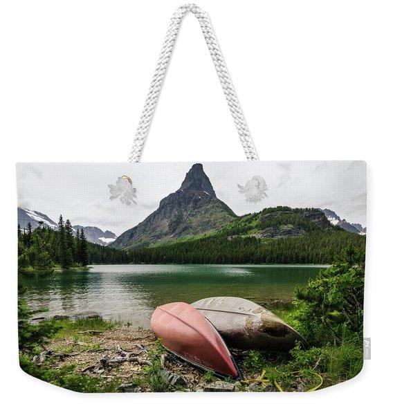Glacier National Park Weekender Tote Bag