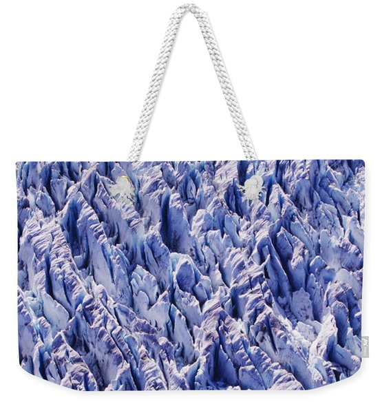 Glacier Patterns Weekender Tote Bag
