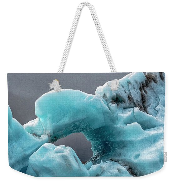 Glacier With Hole Weekender Tote Bag