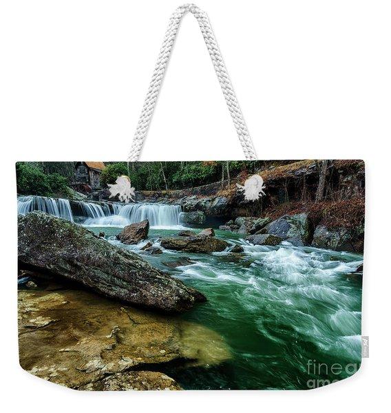 Glade Creek And Grist Mill Weekender Tote Bag
