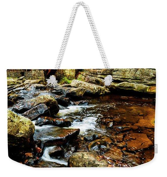 Glade Creek Grist Mill Fall  Weekender Tote Bag