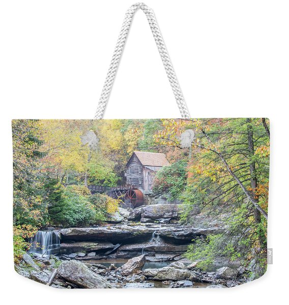 Glade Creek Grist Mill In Autumn Weekender Tote Bag