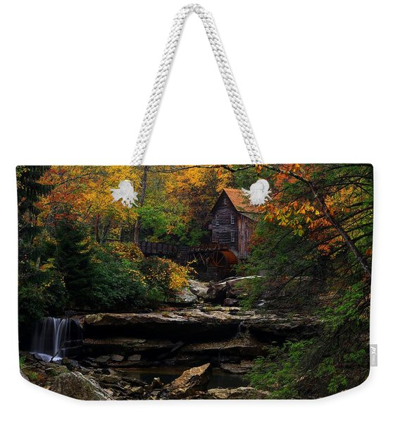 Glades Creek Grist Mill West Virginia Weekender Tote Bag