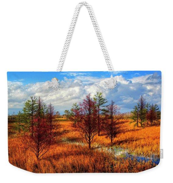 Glades Evening Shadows Weekender Tote Bag