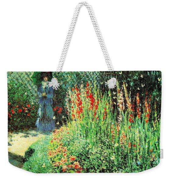 Gladioli Weekender Tote Bag