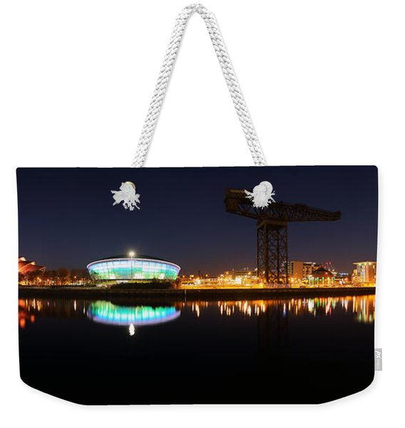 Glasgow Clyde Panorama Weekender Tote Bag