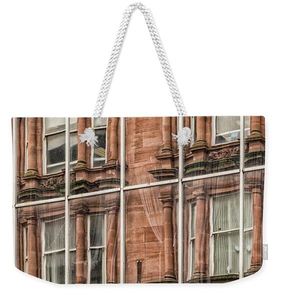 Glasgow Modern Vintage Weekender Tote Bag