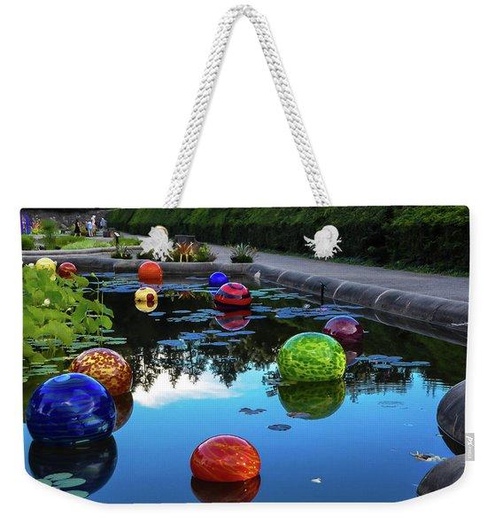 Glass At Biltmore Weekender Tote Bag