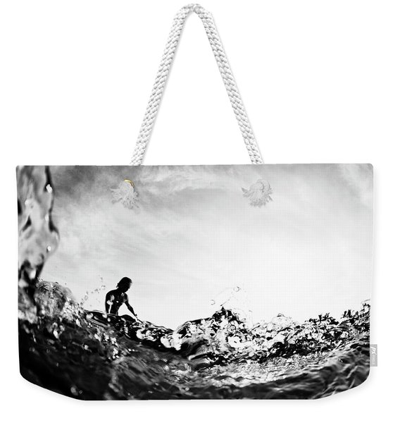 Glass House Weekender Tote Bag