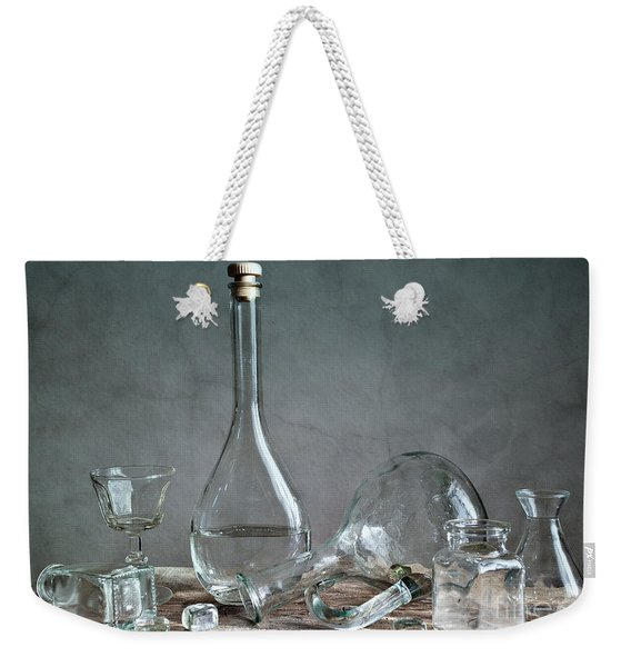 Glass Weekender Tote Bag