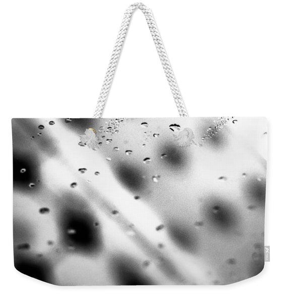 Glass Shower Room Door Weekender Tote Bag