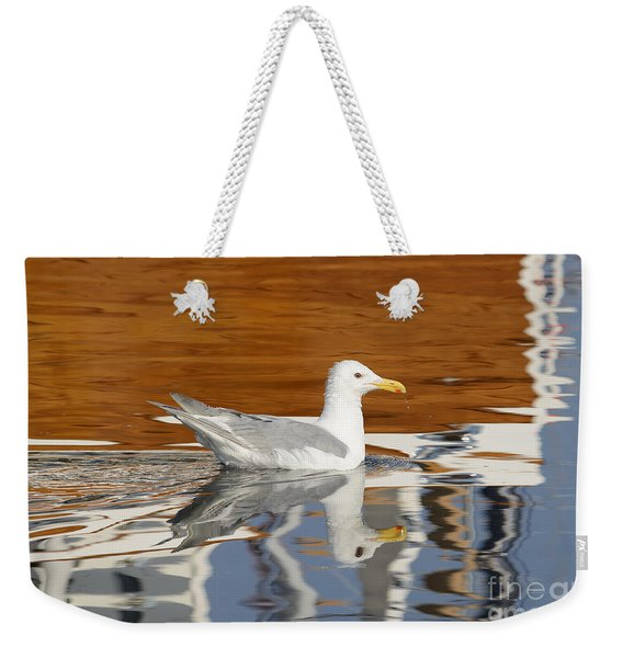 Glaucous-winged Gull Weekender Tote Bag