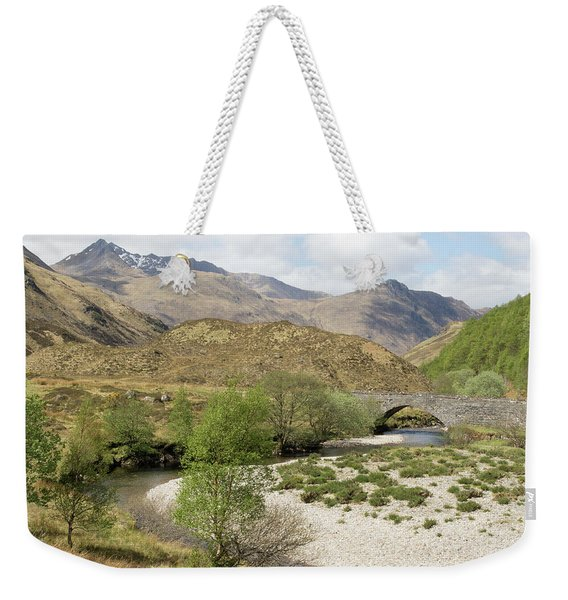 Glen Shiel - Scotland Weekender Tote Bag