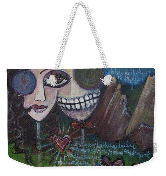 Glenn And Allison Weekender Tote Bag