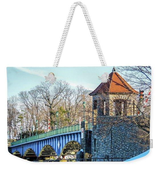 Glenn Island Drawbridge Weekender Tote Bag