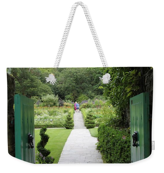 Glenveagh Castle Gardens 4272 Weekender Tote Bag