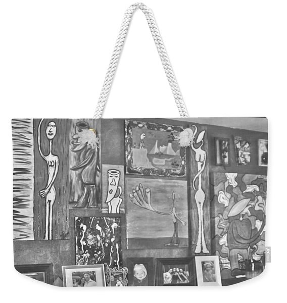 Glimpses Of Where Art Lives 4 Weekender Tote Bag