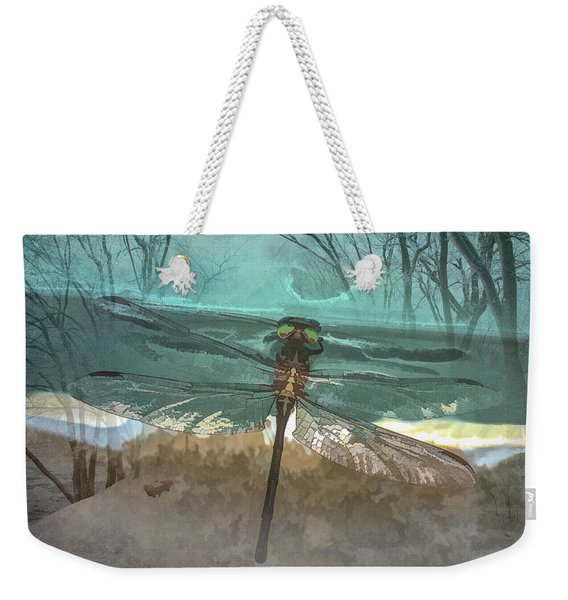 Glistening In The Forest Weekender Tote Bag