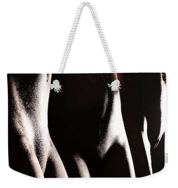 Glistening Oasis Weekender Tote Bag