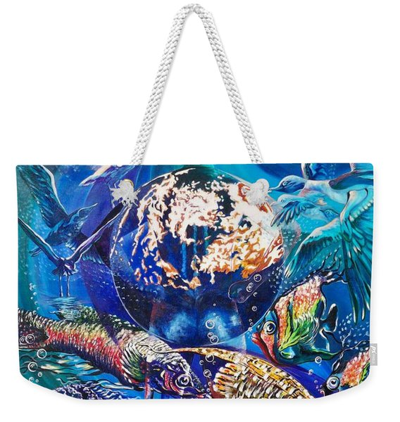 Planet  Earth - Our Family Tree Weekender Tote Bag