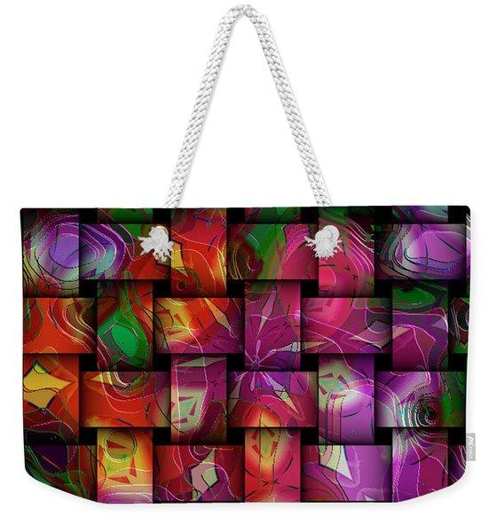 Global Connection Weekender Tote Bag