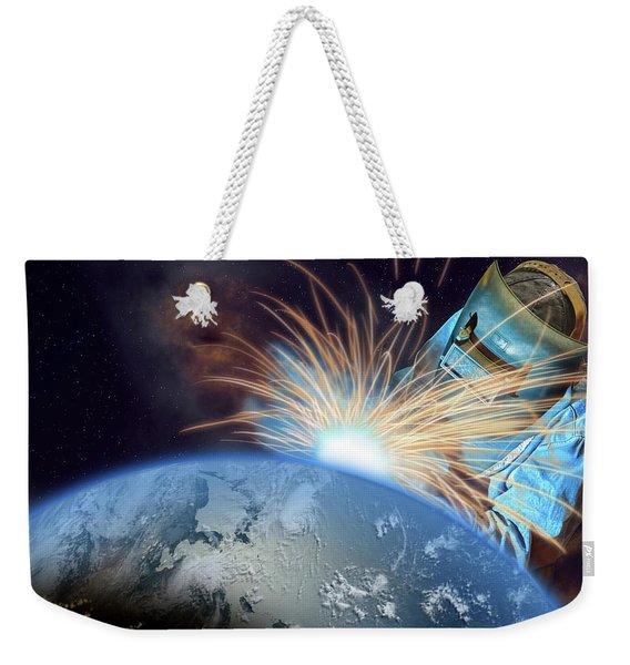 Global Meltdown Weekender Tote Bag
