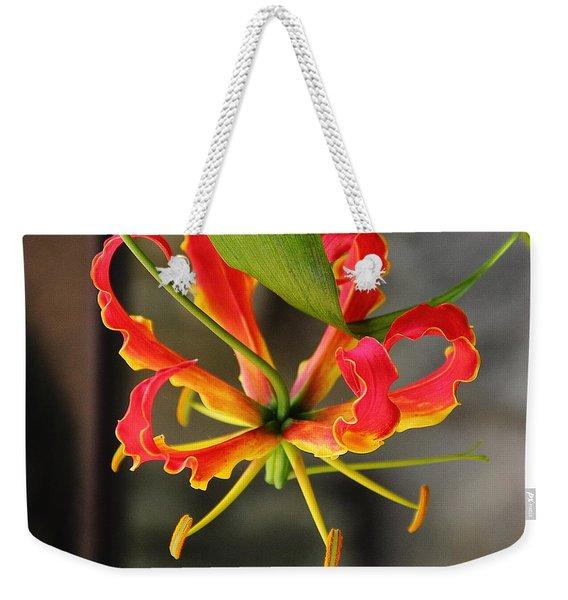 Gloriosa Lily Weekender Tote Bag