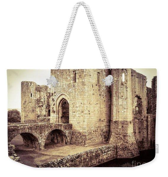 Glorious Raglan Castle Weekender Tote Bag