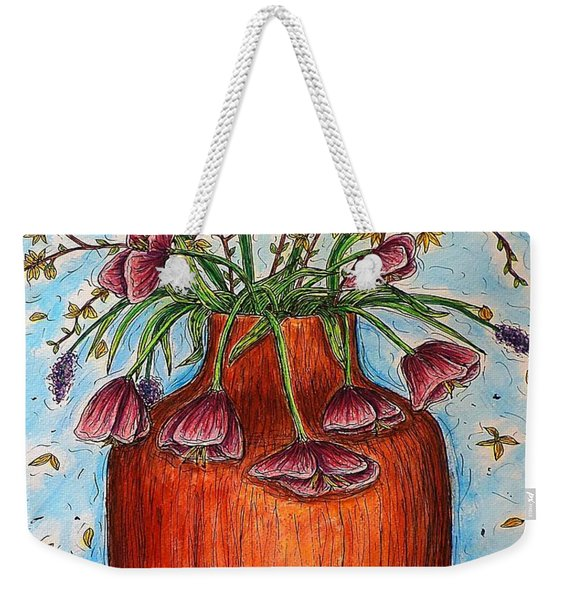 Glorious Springtime Weekender Tote Bag