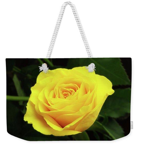 Glorious Yellow Rose Weekender Tote Bag