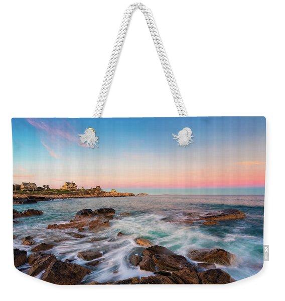 Gloucester Sunset 1 Weekender Tote Bag