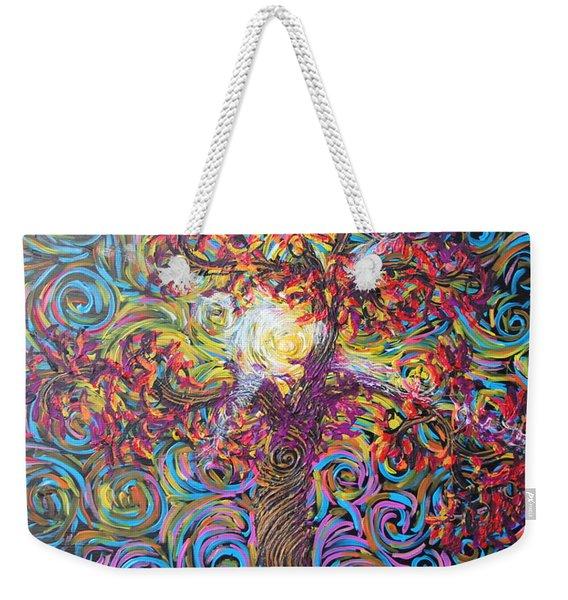 Glow Of Love Weekender Tote Bag