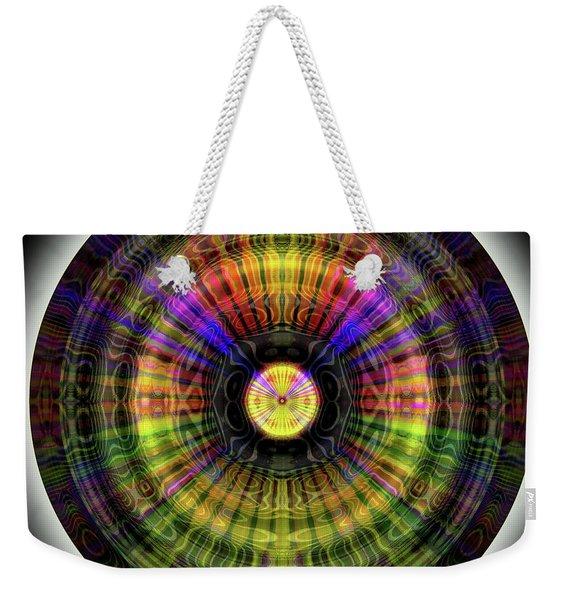 Glow Wheel Eleven Weekender Tote Bag