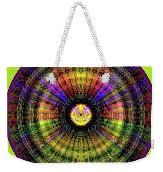 Glow Wheel Five Weekender Tote Bag